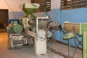 Pipe extrusion line in The Gambia